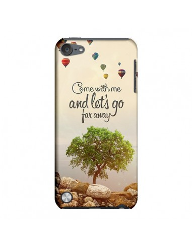 Coque Let's Go Far Away Ballons pour iPod Touch 5 - Eleaxart
