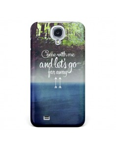 Coque Let's Go Far Away Forest Foret pour Galaxy S4 - Eleaxart