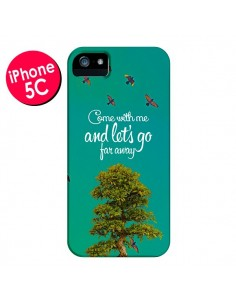 Coque Let's Go Far Away Tree Arbre pour iPhone 5C - Eleaxart