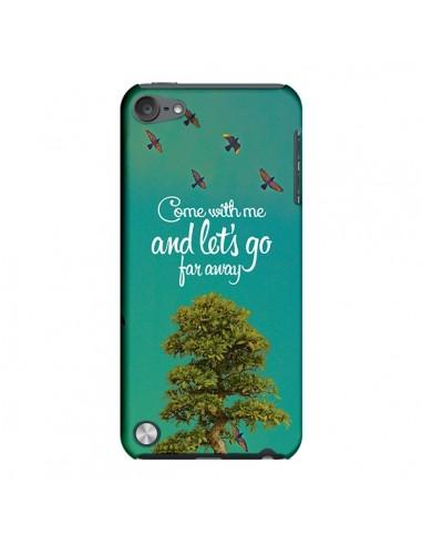 Coque Let's Go Far Away Tree Arbre pour iPod Touch 5 - Eleaxart