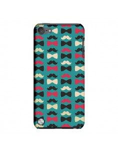 Coque Hipster Moustache Noeud Papillon pour iPod Touch 5 - Eleaxart