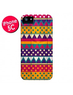 Coque Mexican Triangle Aztec Azteque pour iPhone 5C - Eleaxart