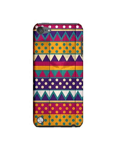 Coque Mexican Triangle Aztec Azteque pour iPod Touch 5 - Eleaxart