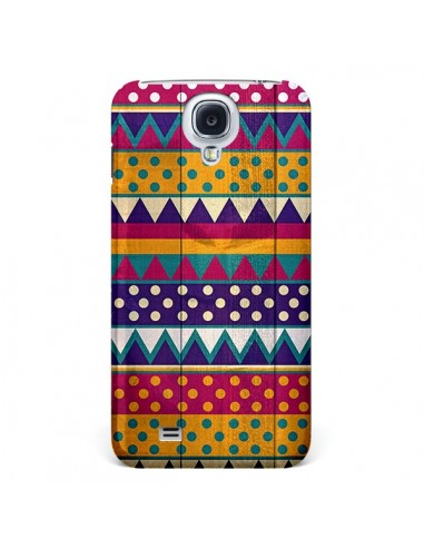 Coque Mexican Triangle Aztec Azteque pour Galaxy S4 - Eleaxart