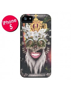 Coque My Best Costume Roi King Monkey Singe Couronne pour iPhone 5 et 5S - Eleaxart