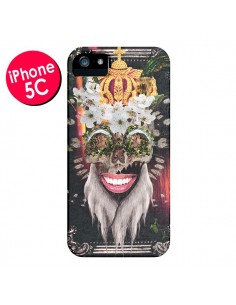 Coque My Best Costume Roi King Monkey Singe Couronne pour iPhone 5C - Eleaxart
