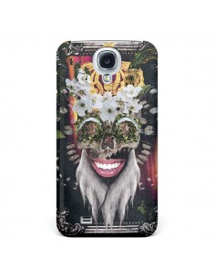 Coque My Best Costume Roi King Monkey Singe Couronne pour Galaxy S4 - Eleaxart