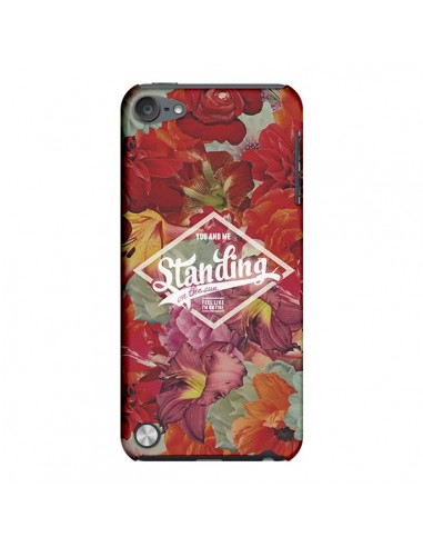 Coque Standing On The Sun Fleur pour iPod Touch 5 - Eleaxart