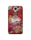 Coque Standing On The Sun Fleur pour Galaxy S4 - Eleaxart