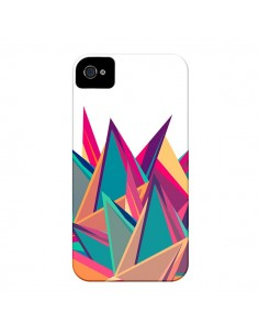 Coque Triangles Intensive Pic Azteque pour iPhone 4 et 4S - Eleaxart