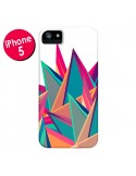 Coque Triangles Intensive Pic Azteque pour iPhone 5 et 5S - Eleaxart