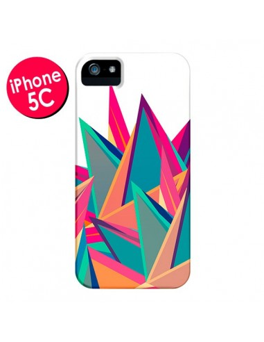Coque Triangles Intensive Pic Azteque pour iPhone 5C - Eleaxart