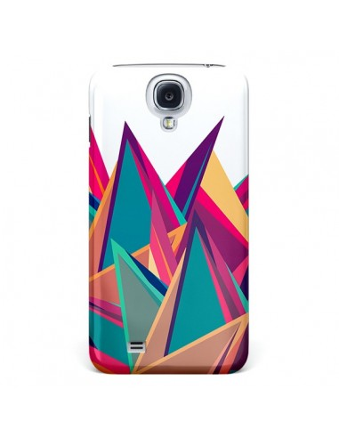 Coque Triangles Intensive Pic Azteque pour Galaxy S4 - Eleaxart