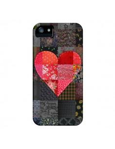 Coque Coeur Heart Patch pour iPhone 4 et 4S - Rachel Caldwell