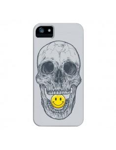 Coque Smiley Face Tête de Mort pour iPhone 4 et 4S - Rachel Caldwell