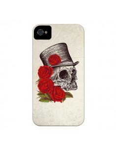 Coque Gentleman Crane Tête de Mort pour iPhone 4 et 4S - Rachel Caldwell