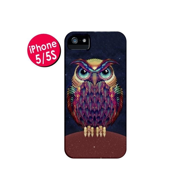 Coque Chouette Owl pour iPhone 5 et 5S - Ali Gulec