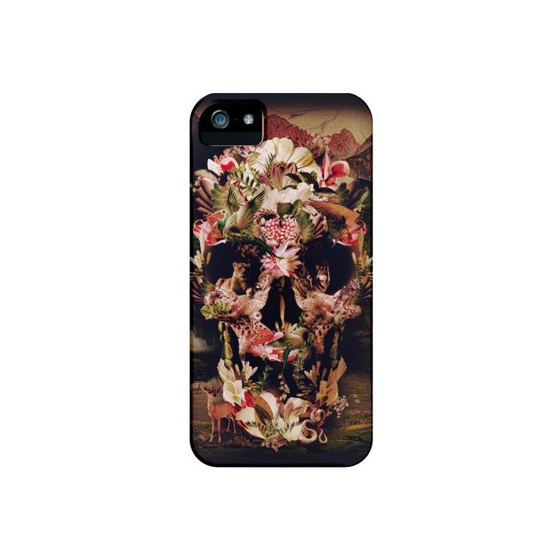 Coque Jungle Skull Tête de Mort pour iPhone 4 et 4S - Ali Gulec