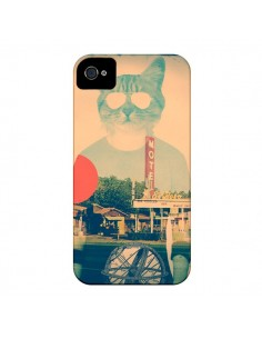 Coque Chat Fashion The Cat pour iPhone 4 et 4S - Ali Gulec