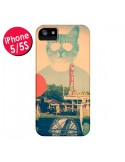 Coque Chat Fashion The Cat pour iPhone 5 et 5S - Ali Gulec