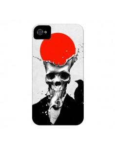 Coque Splash Skull Tête de Mort pour iPhone 4 et 4S - Ali Gulec