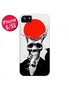 Coque Splash Skull Tête de Mort pour iPhone 5 et 5S - Ali Gulec