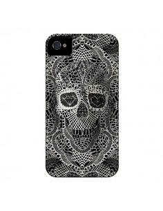 Coque Skull Lace Tête de Mort pour iPhone 4 et 4S - Ali Gulec