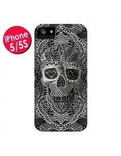 Coque Skull Lace Tête de Mort pour iPhone 5 et 5S - Ali Gulec