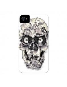 Coque Tape Skull K7 Tête de Mort pour iPhone 4 et 4S - Ali Gulec