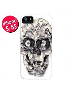 Coque Tape Skull K7 Tête de Mort pour iPhone 5 et 5S - Ali Gulec