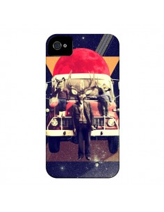 Coque Cerf Le Camion pour iPhone 4 et 4S - Ali Gulec