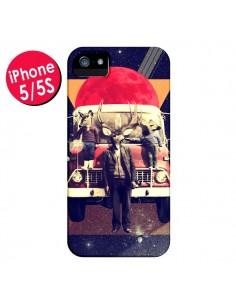 Coque Cerf Le Camion pour iPhone 5 et 5S - Ali Gulec