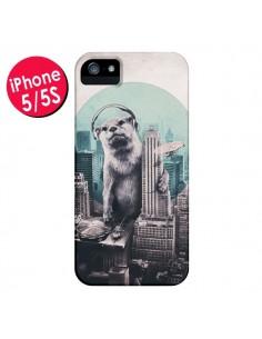 Coque Loutre Dj New York pour iPhone 5 et 5S - Ali Gulec