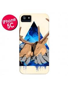Coque Cerf Triangle Seconde Chance pour iPhone 5C - Maximilian San