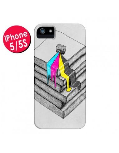 Coque Appareil Photo Bleeding Words pour iPhone 5 et 5S - Maximilian San