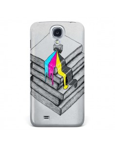 Coque Appareil Photo Bleeding Words pour Samsung Galaxy S4 - Maximilian San