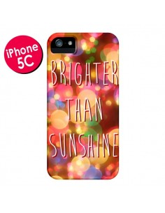 Coque Brighter Than Sunshine Paillettes pour iPhone 5C - Maximilian San