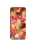 Coque Brighter Than Sunshine Paillettes pour iPod Touch 5 - Maximilian San