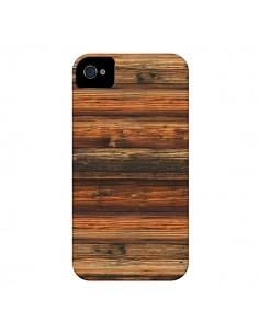 Coque Style Bois Buena Madera pour iPhone 4 et 4S - Maximilian San