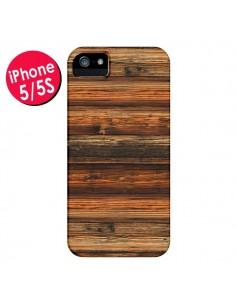 Coque Style Bois Buena Madera pour iPhone 5 et 5S - Maximilian San