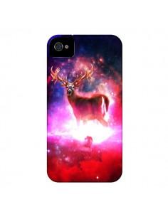 Coque Cosmic Deer Cerf Galaxy pour iPhone 4 et 4S - Maximilian San