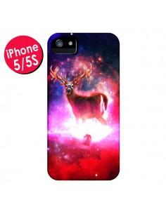 Coque Cosmic Deer Cerf Galaxy pour iPhone 5 et 5S - Maximilian San