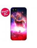 Coque Cosmic Deer Cerf Galaxy pour iPhone 5C - Maximilian San