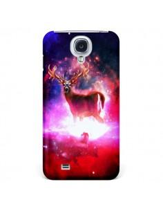 Coque Cosmic Deer Cerf Galaxy pour Samsung Galaxy S4 - Maximilian San
