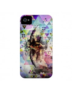 Coque Oeil Triangle Oiseau Cry Bird pour iPhone 4 et 4S - Maximilian San