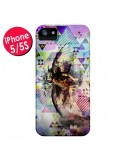 Coque Oeil Triangle Oiseau Cry Bird pour iPhone 5 et 5S - Maximilian San