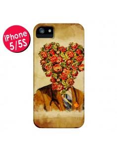 Coque Docteur Love Fleurs pour iPhone 5 et 5S - Maximilian San