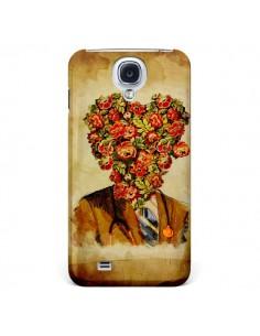 Coque Docteur Love Fleurs pour Samsung Galaxy S4 - Maximilian San