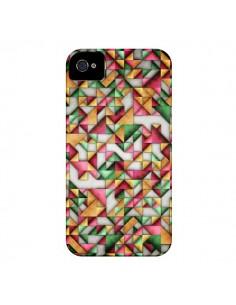 Coque Azteque Triangle Geometric World pour iPhone 4 et 4S - Maximilian San