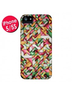 Coque Azteque Triangle Geometric World pour iPhone 5 et 5S - Maximilian San